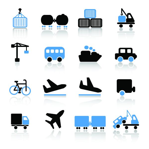 free vector Transport icon 03 vector