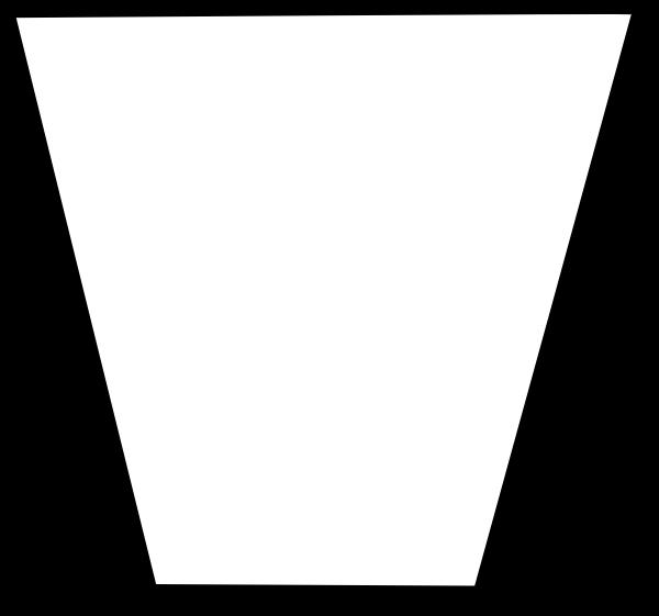 free vector Trapezium Flowchart Symbol clip art