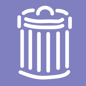 free vector Trash Can Symbol Sign clip art