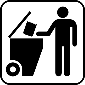 free vector Trash Disposal clip art