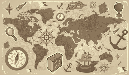 free vector Travel and tourism elements of vector 2