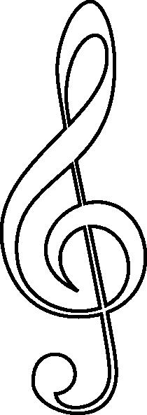 treble clef clip art free vector 4vector rh 4vector com treble clef clip art public domain treble clef clipart