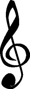 free vector Treble Clefs Music Symbol clip art