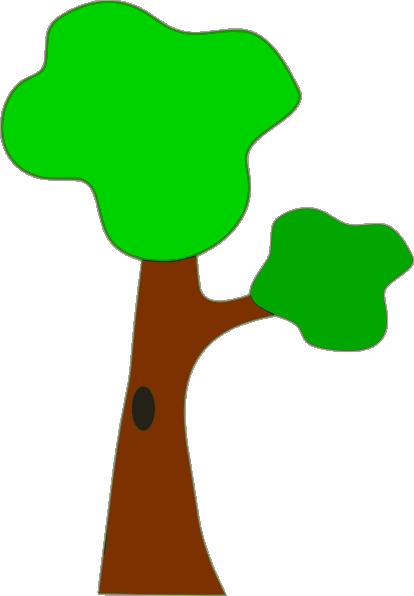 November Trees Clipart Free vector tree clip art