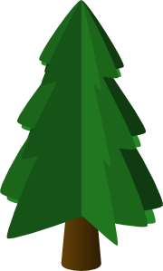 free vector Tree Symbol 3d clip art