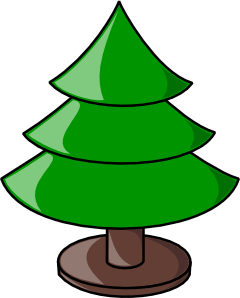 free vector Tree With Stand clip art