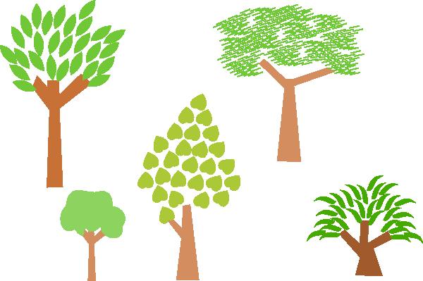 Trees clip art Free Vector / 4Vector