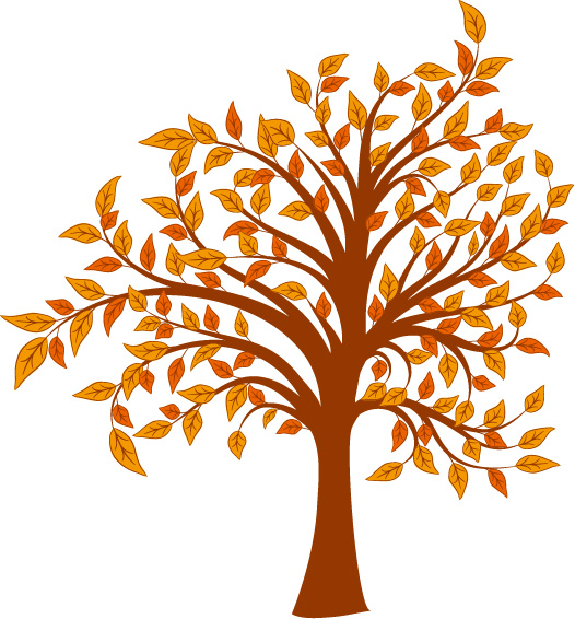 free vector Trees vector material