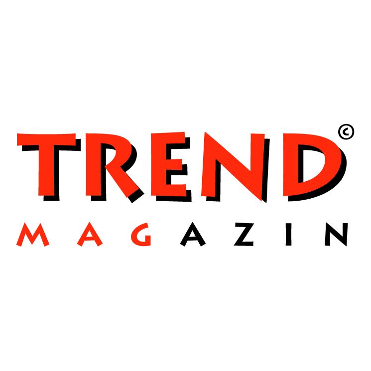 free vector Trend magazin