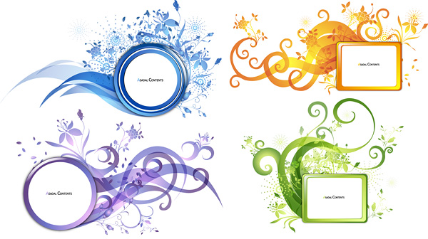 free vector Trend pattern vector decoration box