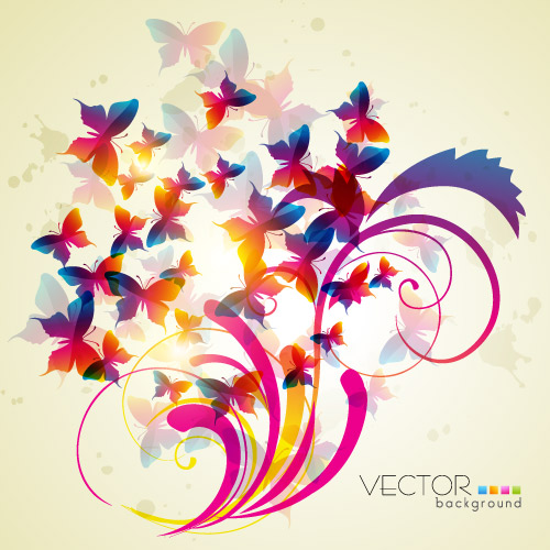free vector Trend patterns 02 vector
