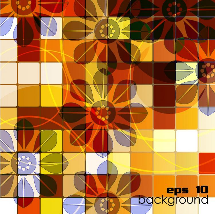 free vector Trend vector 2 background grid box