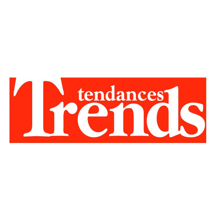 free vector Trends tendances