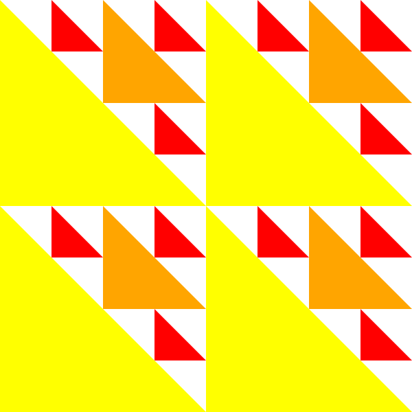 free vector Triangles Byzantine 2 Pattern clip art