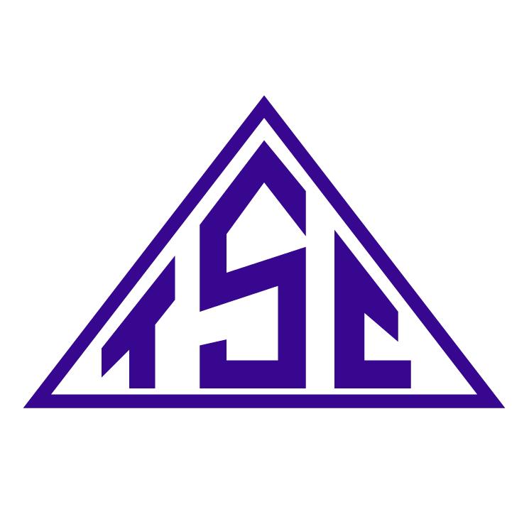 free vector Triangulo sport club de monte alegre de minas mg