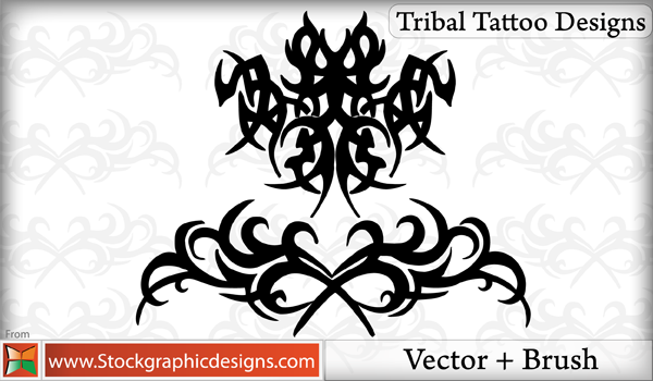 free vector Tribal Tattoo Designs Vector Pack
