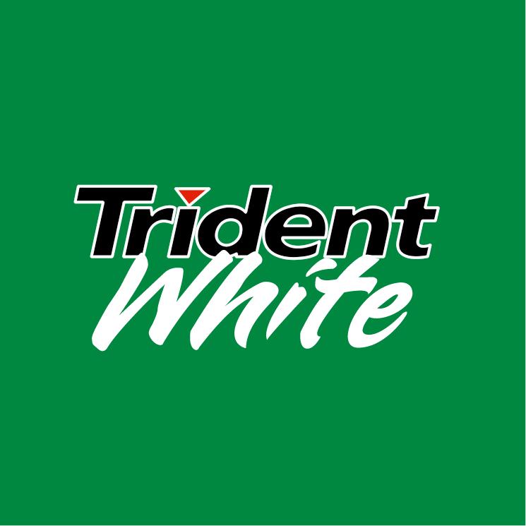 free vector Trident white