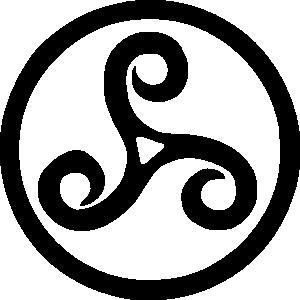 free vector Triskel clip art