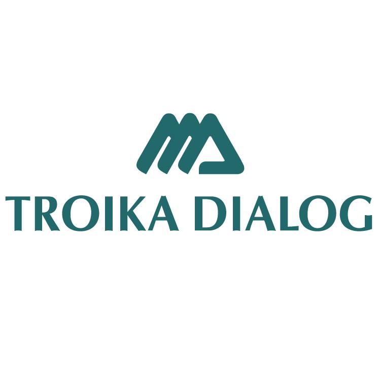 free vector Troika dialog 0