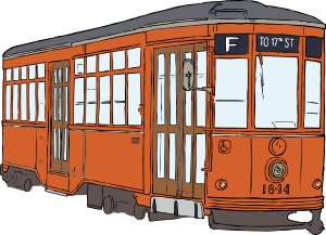 free vector Trolly clip art