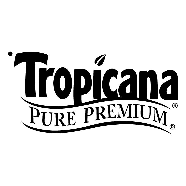 free vector Tropicana pure premium