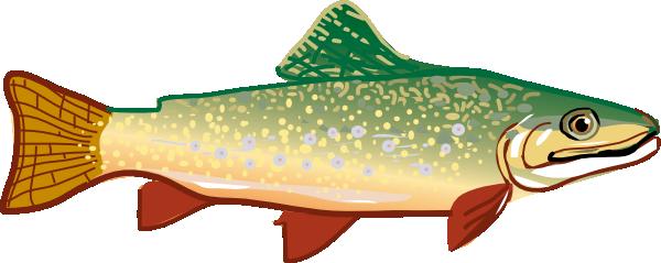 trout clip art free vector 4vector rh 4vector com trout silhouette clip art trout clip art black and white
