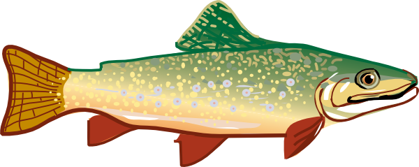 free vector Trout clip art