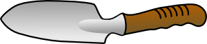 free vector Trowel clip art