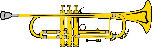 free vector Trumpet B Flat (colour) clip art