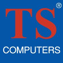 free vector TS Computers logo