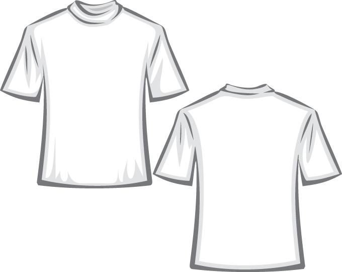 Tshirt template vector Free Vector / 4Vector