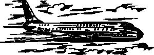 free vector Tu Airplane clip art