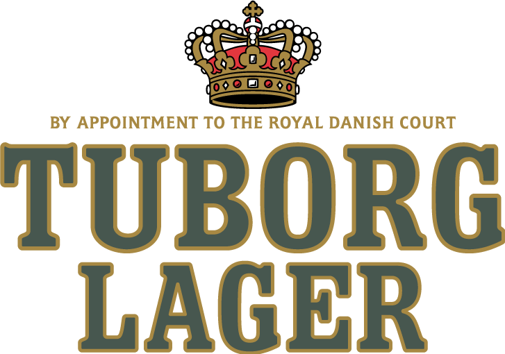 free vector Tuborg-LAGER 2 LINES