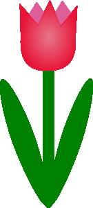 free vector Tulip clip art