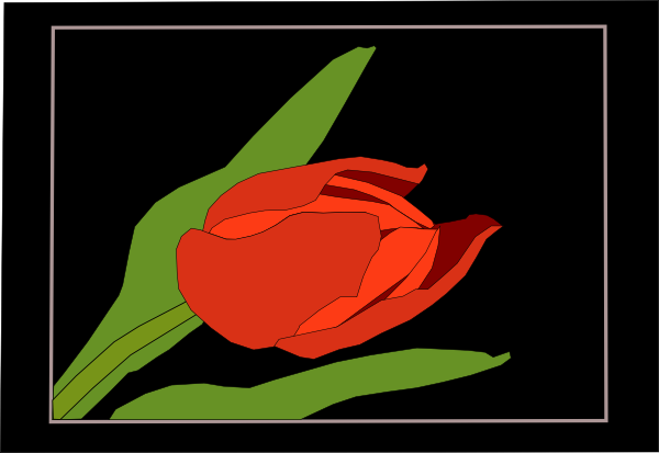 free vector Tulipan clip art