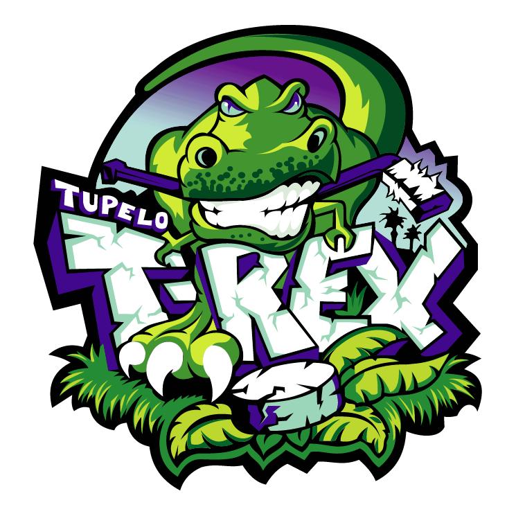 free vector Tupelo t rex