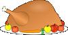 free vector Turkey Platter 01 With Fruit And Vegitables clip art