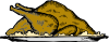 free vector Turkey Platter clip art