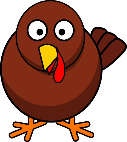 turkey round cartoon clip art free vector 4vector rh 4vector com cartoon turkey pictures clip art thanksgiving turkey cartoon clip art