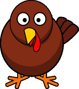 free vector Turkey Round Cartoon clip art