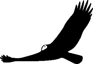free vector Turkey Vulture clip art
