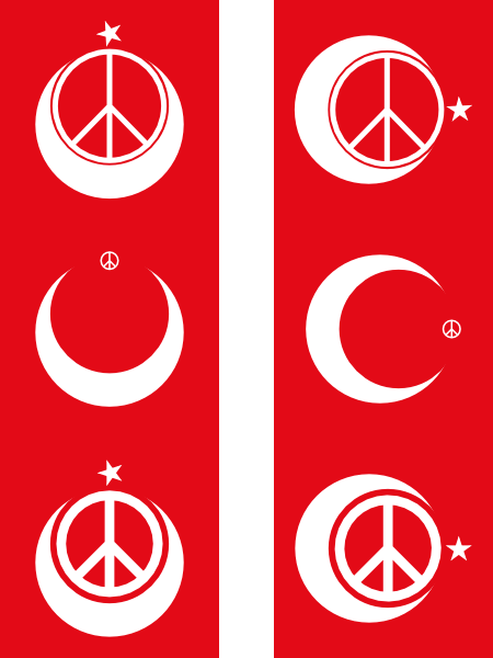 free vector Turkish Peace clip art