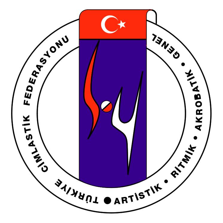 free vector Turkiye cimnastik federasyonu
