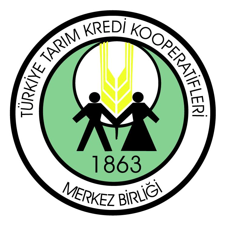free vector Turkiye tarim kredi kooperatifleri