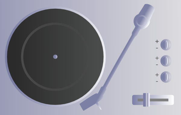 free vector Turntable clip art