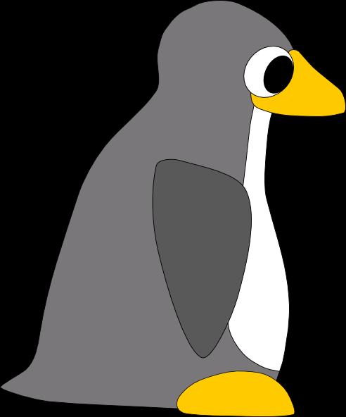 free vector Tux clip art