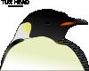 free vector Tux Head clip art