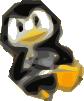 free vector Tux Icon clip art