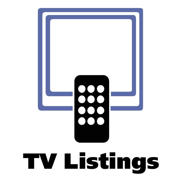 free vector Tv listings