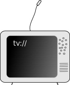 free vector Tv Television clip art